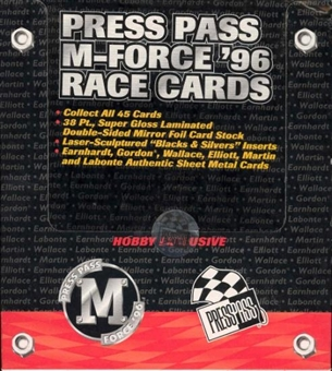 1996 Press Pass M-Force Racing Box