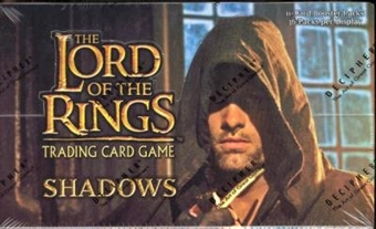 Decipher Lord of the Rings Shadows Booster Box