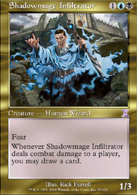 Magic the Gathering Time Spiral Single Shadowmage Infiltrator 4x Lot - NEAR MINT (NM)