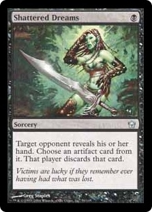 Magic the Gathering Fifth Dawn Single Shattered Dreams FOIL
