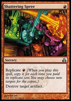 Magic the Gathering Guildpact Single Shattering Spree FOIL - NEAR MINT (NM)