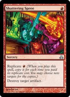 Magic the Gathering Guildpact Single Shattering Spree - NEAR MINT (NM)