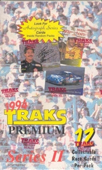1994 Traks Series 2 Racing Hobby Box
