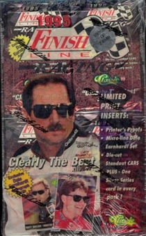 1995 Classic Finish Line Racing Hobby Box