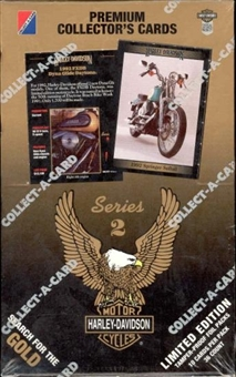 Harley Davidson Series 2 Hobby Box (1992 Collect-A-Card)