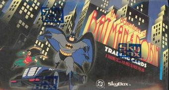 Adventures of Batman and Robin Hobby Box (1995 Skybox)
