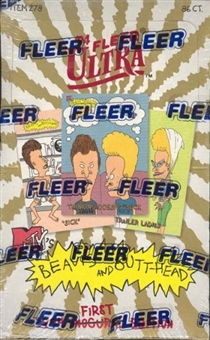 Beavis and Butt-Head First Edition Box (1994 Fleer)
