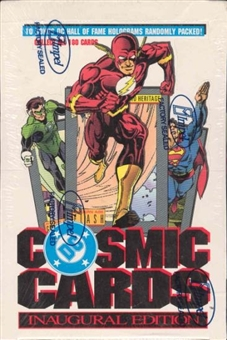 DC Cosmic Cards Hobby Box (1991 Impel)