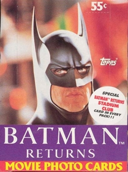 Batman Returns The Movie Wax Box (1992 Topps)
