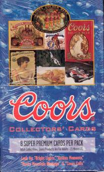 Coors Collectors' Cards Wax Box (1995 Coors Brewing)
