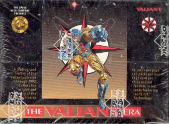 Valiant Hobby Box (1993 Upper Deck)