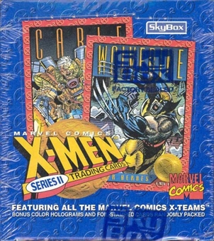 X-Men Series 2 Wax Box (1993 Skybox)