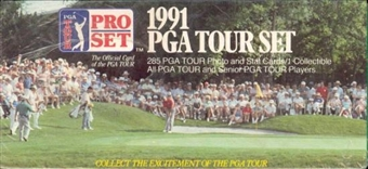 1991 Pro Set Golf Factory Set