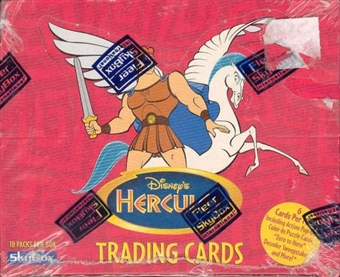 Disney Hercules Wax Box (1997 Fleer/Skybox)