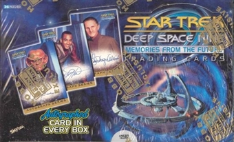 Star Trek Deep Space Nine Memories From The Future Box (1999 Skybox)