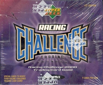 Upper Deck Racing Challenge 1st Edition Racing Box (2000)