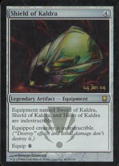 Magic the Gathering Darksteel Single Shield of Kaldra Foil (Prerelease)