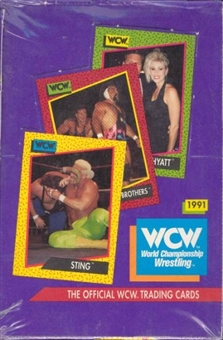 1991 Impel WCW Wrestling Box