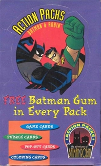 Batman and Robin Action Packs Hobby Box (1996 Skybox)