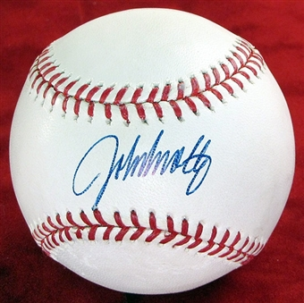 John Smoltz Autographed Official Major League Baseball PSA COA