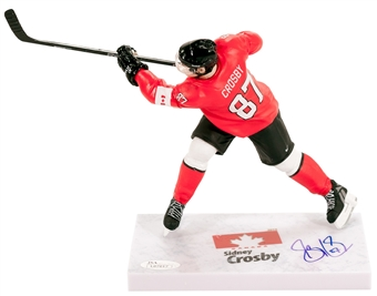 Sidney Crosby Autographed Team Canada (Red Jersey) 2014 McFarlane Figure (JSA)
