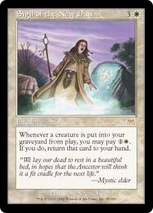 Magic the Gathering Onslaught Single Sigil of the New Dawn - NEAR MINT (NM)