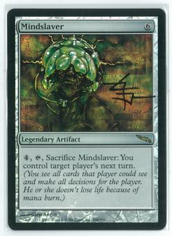 Magic the Gathering Mirrodin Single Mindslaver FOIL NEAR MINT (NM) Artist Signed!