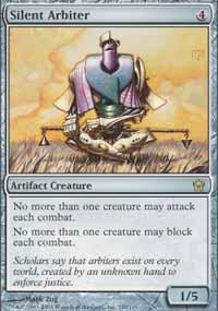 Magic the Gathering Fifth Dawn Single Silent Arbiter - NEAR MINT (NM)