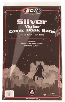 Silver Age Comic Book Mylar 2 Mil Bags 50 ct.