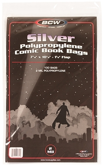 Silver Age Comic Book Bags 100ct
