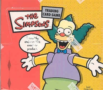 WOTC The Simpsons Booster Box