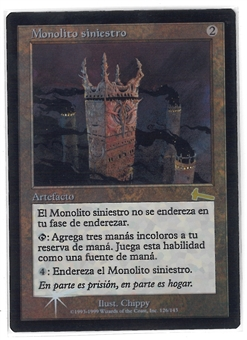 Magic the Gathering Urza's Legacy SPANISH FOIL Single - Grim Monolith - NEAR MINT (NM)