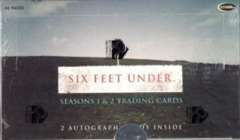 Six Feet Under Season 1 & 2 Box (Rittenhouse 2004)