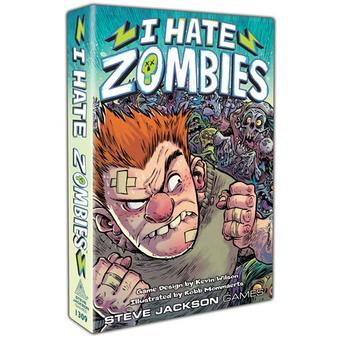 I Hate Zombies (Steve Jackson Games) (Presell)