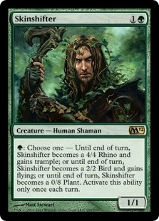 Magic the Gathering 2012 Single Skinshifter UNPLAYED (NM/MT)