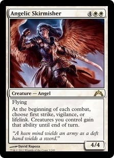 Magic the Gathering Gatecrash Single Angelic Skirmisher UNPLAYED FOIL (NM/MT)