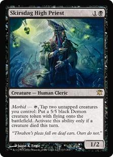 Magic the Gathering Innistrad Single Skirsdag High Priest Foil