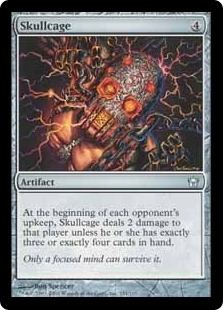 Magic the Gathering Fifth Dawn Single Skullcage FOIL