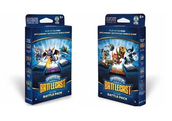Skylanders Battlecast Deck - Battle Pack A & B