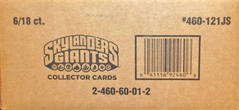 Skylanders Giants Jumbo 18-Pack 6-Box Case (Topps 2013)