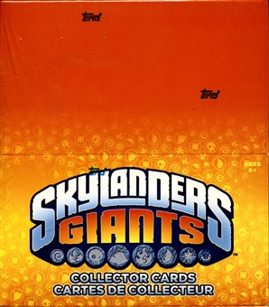 Skylanders Giants Collector Cards 24-Pack Box (Topps 2012)