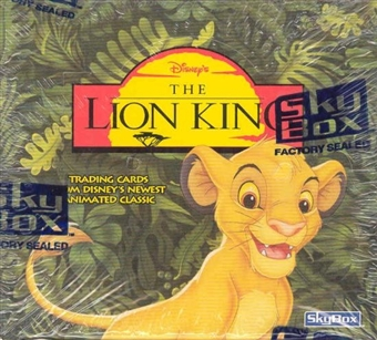 Lion King Hobby Box (1994 Skybox)