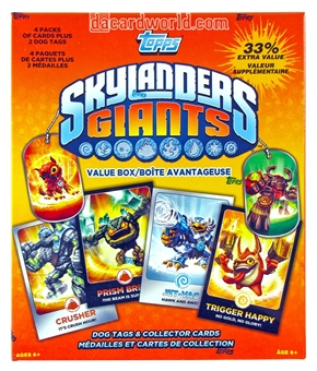 Skylanders Giants 4-Pack Box (Topps 2013)