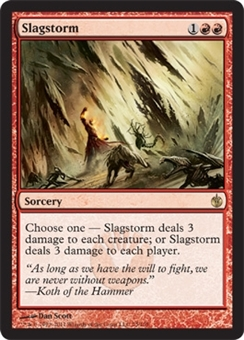 Magic the Gathering Mirrodin Besieged Single Slagstorm - NEAR MINT (NM)