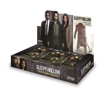 Sleepy Hollow Season One Trading Cards Box (Cryptozoic 2014) (Presell)