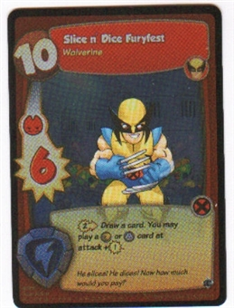 Marvel Super Hero Squad Foundation Single Slice n' Dice Furyfest Rare