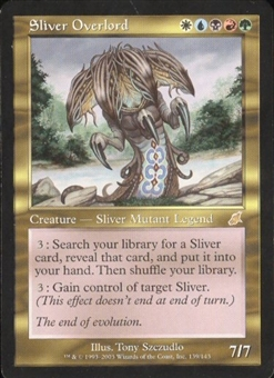 Magic the Gathering Scourge Single Sliver Overlord - SLIGHT PLAY (SP)