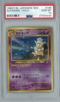 Pokemon Japanese Neo 1 Slowking PSA 10 GEM MINT
