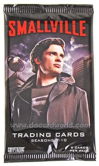 Smallville Seasons 7-10 Trading Cards Pack (Cryptozoic 2012)
