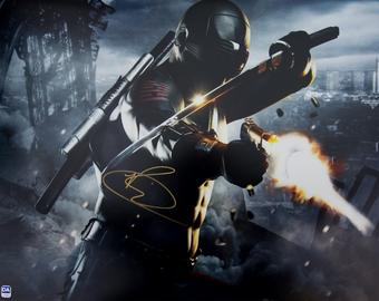 Ray Park Autographed Snake Eyes 16x20 GI Joe Photo